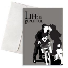 Ευχετήρια Κάρτα Life Is Beautiful