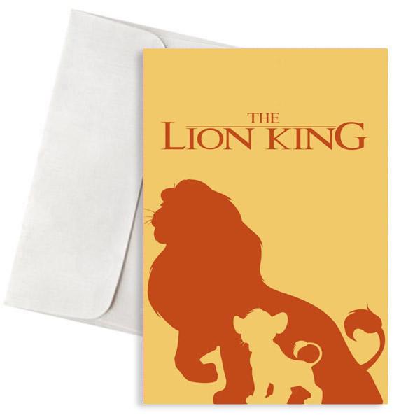 Ευχετήρια Κάρτα The Lion King