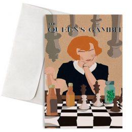 Ευχετήρια Κάρτα The Queen's Gambit