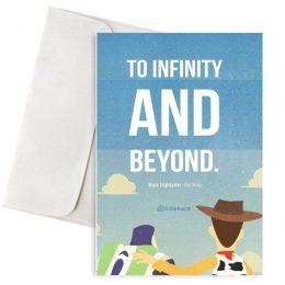 Ευχετήρια Κάρτα To Infinity and Beyond