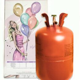 Φιάλη ήλιον για 30 μπαλόνια