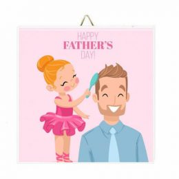 Καδράκι Happy Father's Day Ballet
