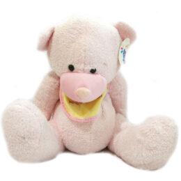 Λούτρινο Ροζ Αρκουδάκι Σ'αγαπώ Μικρό Μου