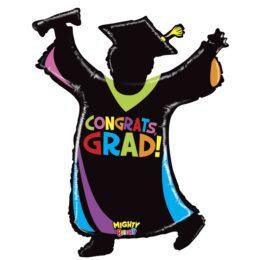 Μπαλόνι Φιγούρα Απόφοιτου Congrats Grad 117 εκ.