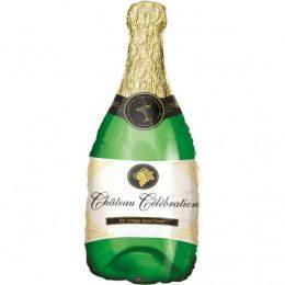 Μπαλόνι πράσινο Μπουκάλι Σαμπάνιας