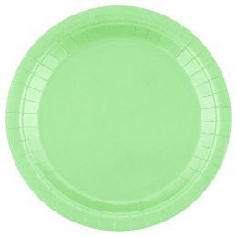 Πιάτα φαγητού πράσινο Μέντας (14 τεμ)