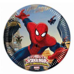 Πιάτα Spiderman (8 τεμ)