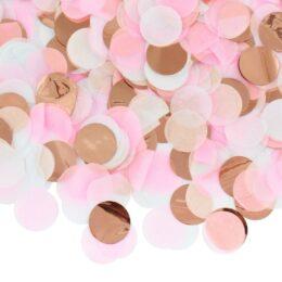 Ροζ Χρυσό Κομφετί mix