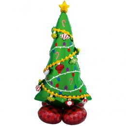 Τεράστιο Μπαλόνι AirLoonz Χριστουγεννιάτικο Δέντρο
