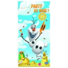 """Αφίσα Όλαφ Frozen """"Party Is Here"""""""