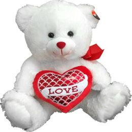 Αρκουδάκι με Κόκκινη Καρδιά 40εκ