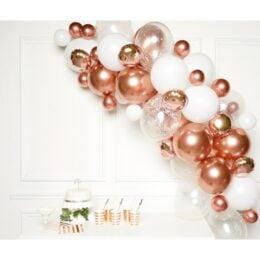 DIY Γιρλάντα Μπαλονιών Rose Gold (66 μπαλόνια)