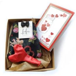 """Δώρο Βαλεντίνου με εσώρουχο """"Be my Valentine"""""""