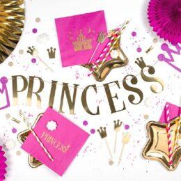 Γιρλάντα Princess με κορώνες
