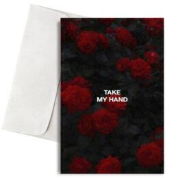 """Κάρτα Αγάπης """"Take My Hand"""""""