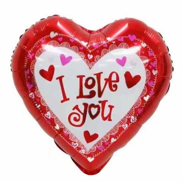 """Μπαλόνι Καρδιά """"I Love You"""" Elegant Hearts"""