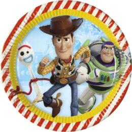Πιάτα φαγητού Toy Story 4 (8 τεμ)