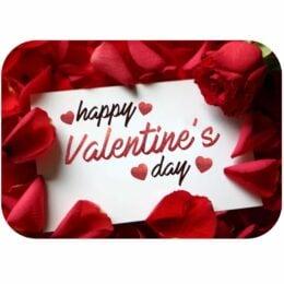 """Σουπλά τραπεζιού """"Happy Valentine's Day"""""""