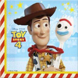 Χαρτοπετσέτες Toy Story 4 (20 τεμ)