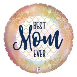Μπαλόνι Best Mom Ever Boho