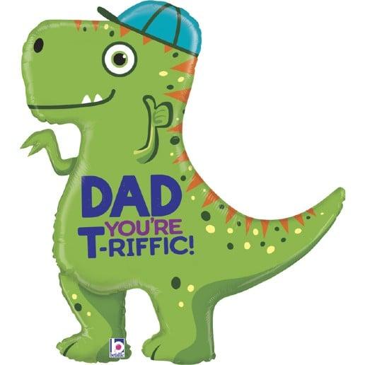 """Μπαλόνι Δεινόσαυρος """"T- Rex Dad"""""""