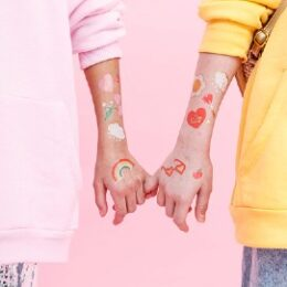 Κοριτσίστικα Προσωρινά Τατουάζ (14 τεμ)