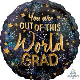 Μπαλόνι Αποφοίτησης Out of this World Grad