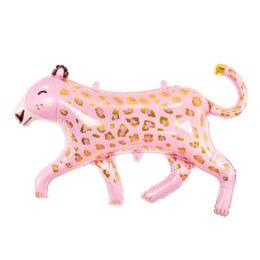 Μπαλόνι ροζ Λεοπάρδαλη