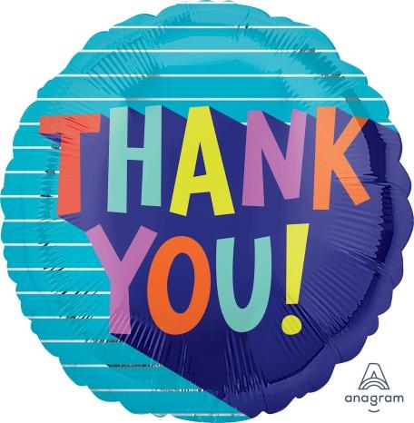 """Μπαλόνι """"Thank You"""" Fun Type"""