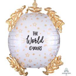 """Μπαλόνι """"The World is Yours"""" Baroque Ultrashape"""