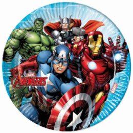 Πιάτα φαγητού Avengers (8 τεμ)