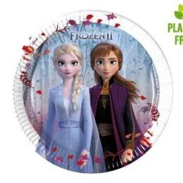 Πιάτα γλυκού Frozen 2 (8 τεμ)