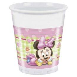 Ποτήρια Baby Minnie Mouse (8 τεμ)