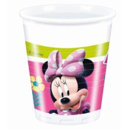 Ποτήρια Minnie Mouse Happy Helpers (8 τεμ)
