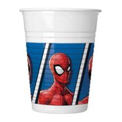 Ποτήρια Spiderman Team Up (6 τεμ)
