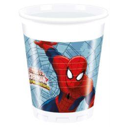 Ποτήρια Spiderman – Web Warriors (8 τεμ)