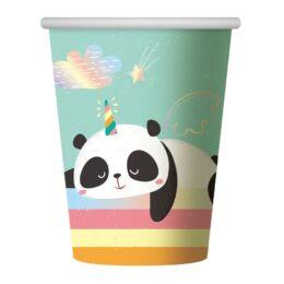 Ποτήρια χάρτινα Dreamy Panda (6 τεμ)