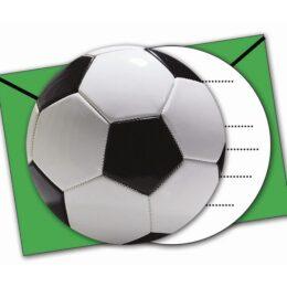 Προσκλήσεις με Φάκελο Ποδόσφαιρο (6 τεμ)