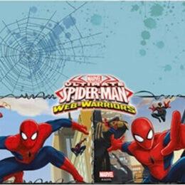 Τραπεζομάντηλο Spiderman – Ultimate Warriors 180 εκ.