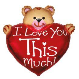 Μπαλόνι Αρκουδάκι Love you this Much