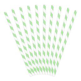 Καλαμάκια χάρτινα Μέντα (10 τεμ)