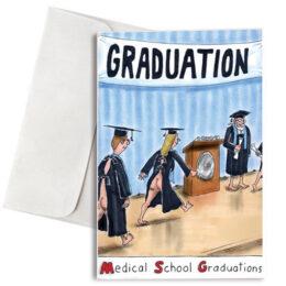 """Κάρτα Αποφοίτησης """"Medical School Graduations"""""""