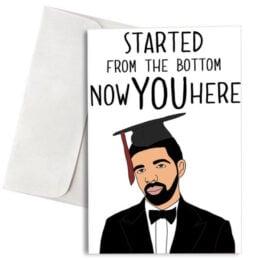 """Κάρτα Αποφοίτησης """"Started From the Bottom"""""""