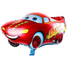 Μπαλόνι Κόκκινο Αυτοκίνητο χαμογελαστό