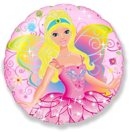 Μπαλόνι Ροζ Πριγκίπισσα Νεράιδα