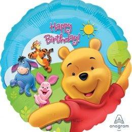 """Μπαλόνι Winnie the Pooh & Friends """"Happy Birthday"""""""