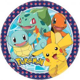 Πιάτα φαγητού Pokemon (8 τεμ)