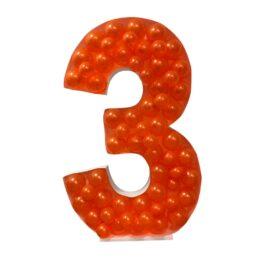 Πλαίσιο μπαλονιών Αριθμός 3