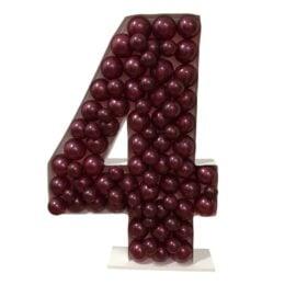 Πλαίσιο μπαλονιών Αριθμός 4