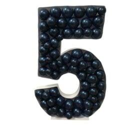 Πλαίσιο μπαλονιών Αριθμός 5